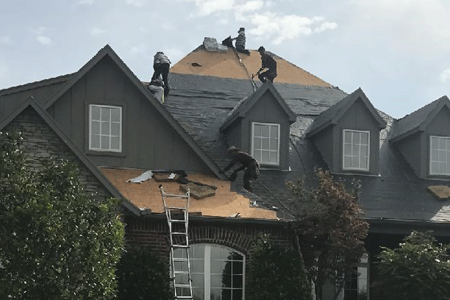 Heartland repairs and roofing.